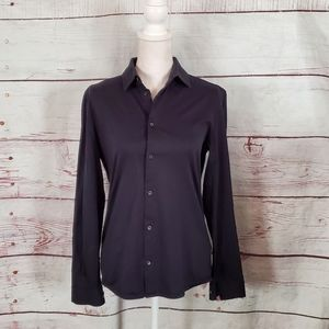 COS Longsleeve Button Front Cotton Shirt